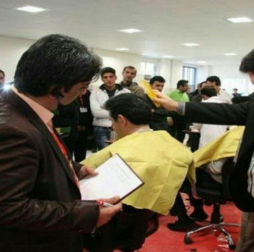 آموزشگاه آرایشگری مردانه سفیر در تهران