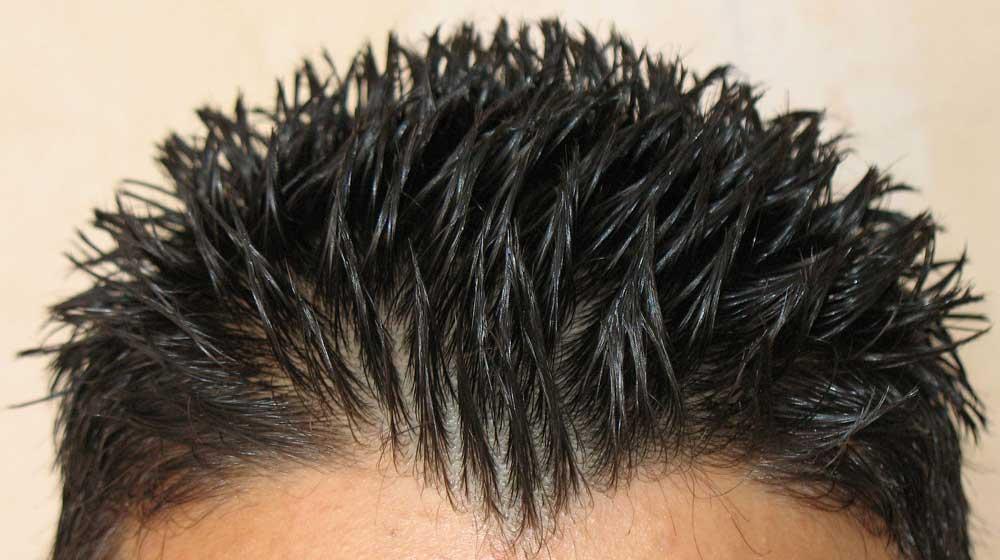 نحوه استفاده از ژل موی سر