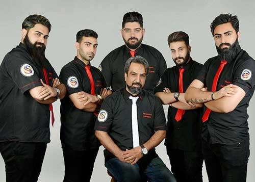 آموزشگاه آرایشگری مردانه سفیر