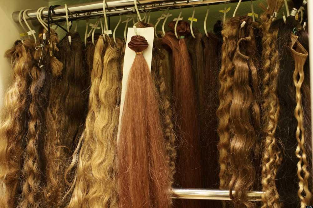 انواع اکستنشن مو
