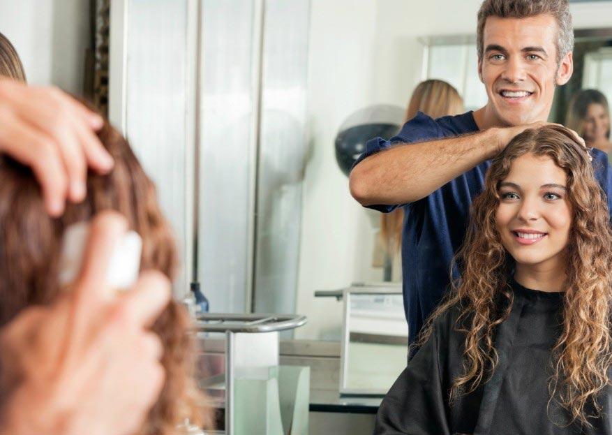 مهاجرت با آرایشگری