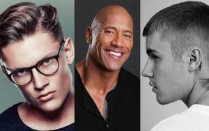 مدل مو کوتاهی برای پیشانی بلند